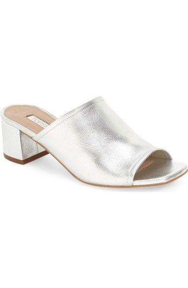 1a43a7e5757 Topshop  Nino  Open Toe Mule (Women) available at  Nordstrom Open Toe