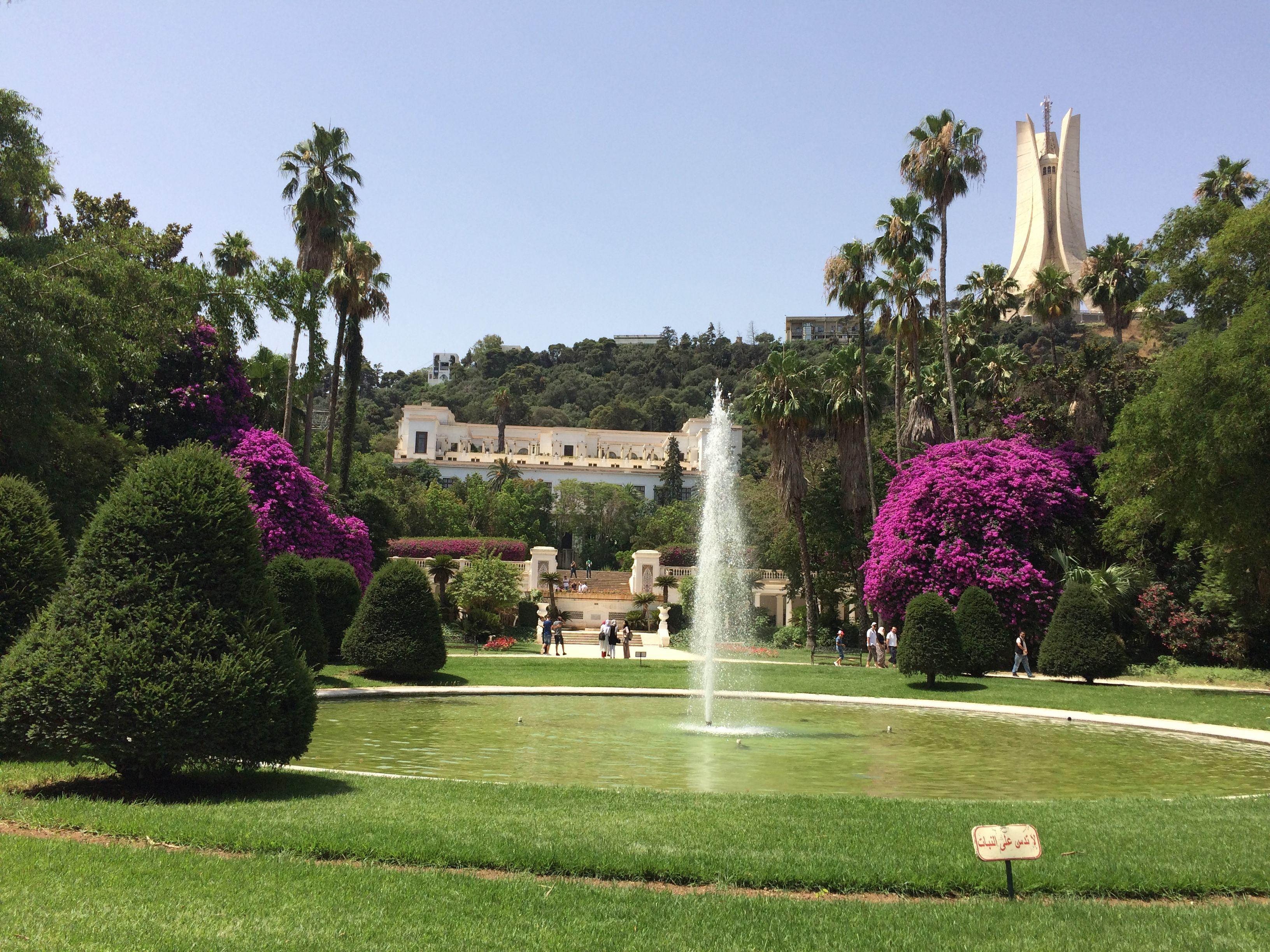 2e Incontournable Jardin D Essai El Hamma A Alger Paysage