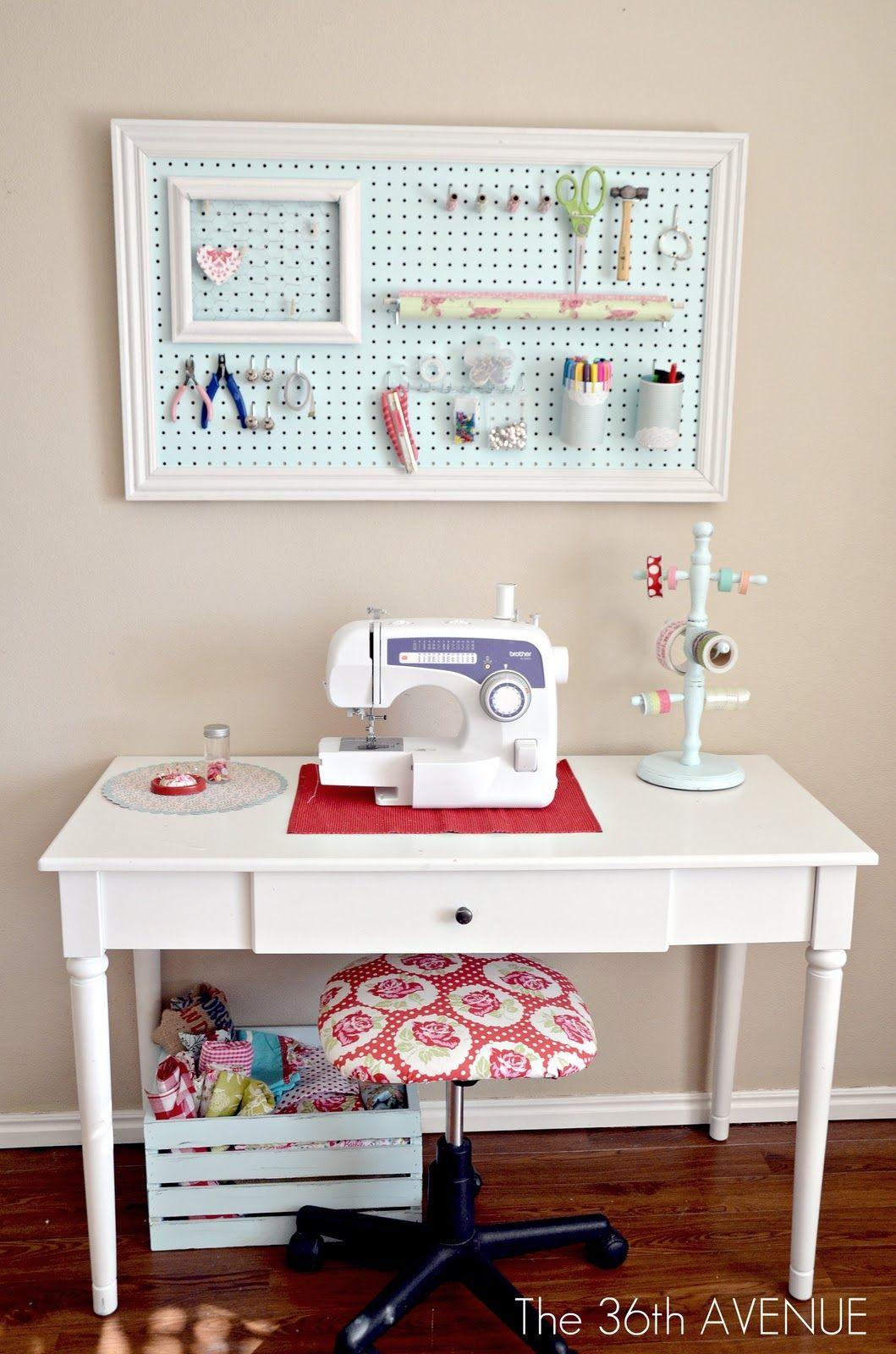 Designing A Sewing Room: Bastelzimmer Organisieren, Hobby