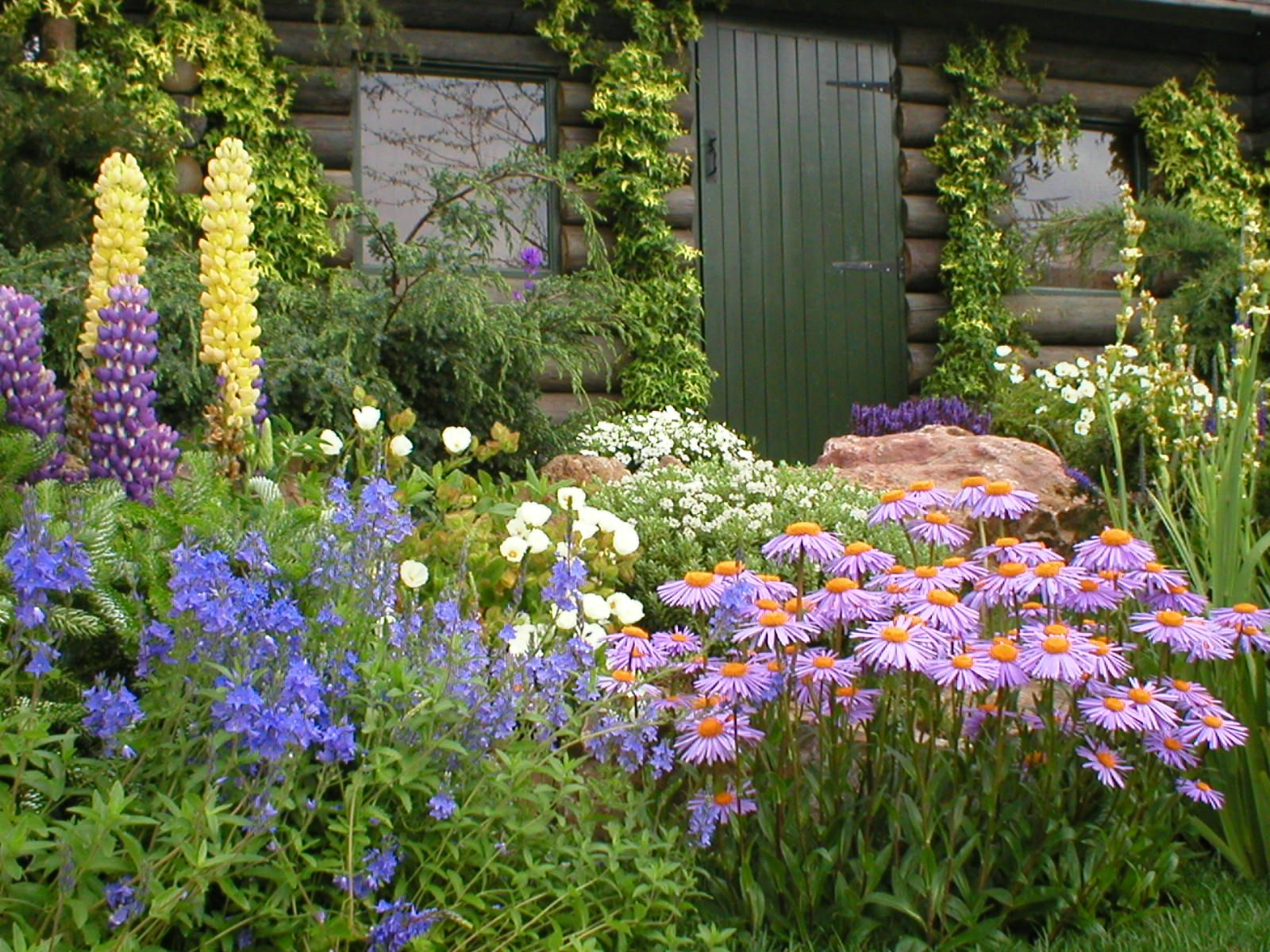 Cottage garden design garden designer stratford upon avon for Cottage garden plans designs