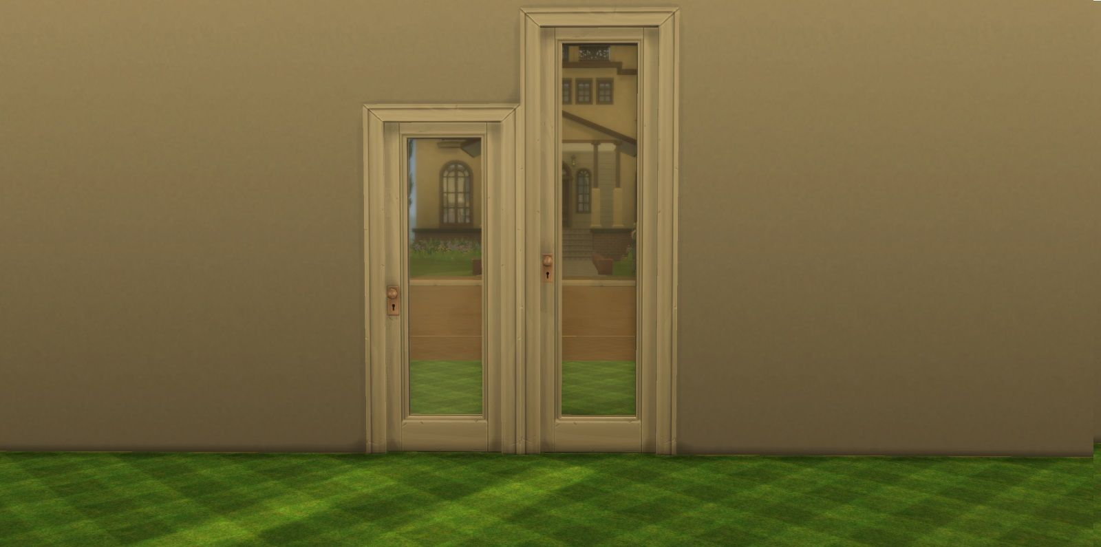Mod The Sims Sims 4 Doors Modified Sims 4