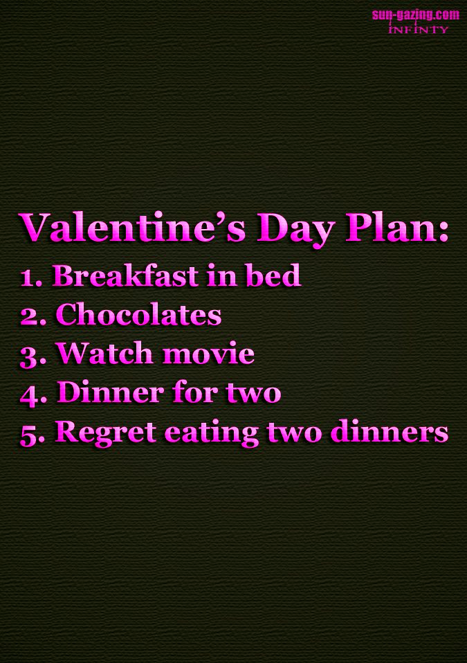 Valentine's Day Plan funny humor valentines day funny ...