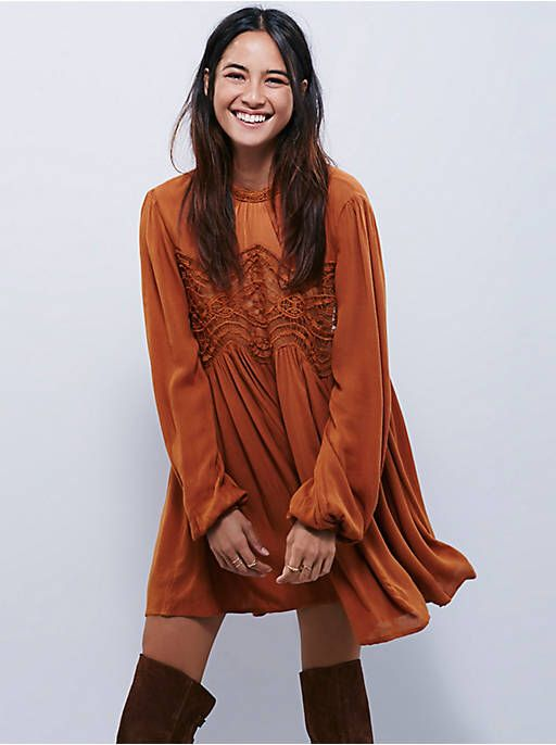 f3948456ef070 Free People Sweet Thing Tunic, $118.00 | Clothes | Vestidos de moda ...