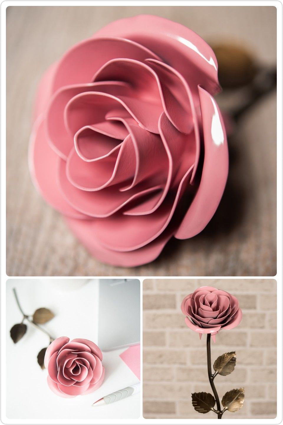 Metal Roses Are The Best Gifts For Your Wedding Anniversary Or A Friend S Birthday They Never Fade And Make Personalized Gift Wife