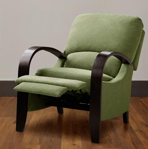 Bent Wood Arm And Leg Chair, Bent Wood Arm Recliner