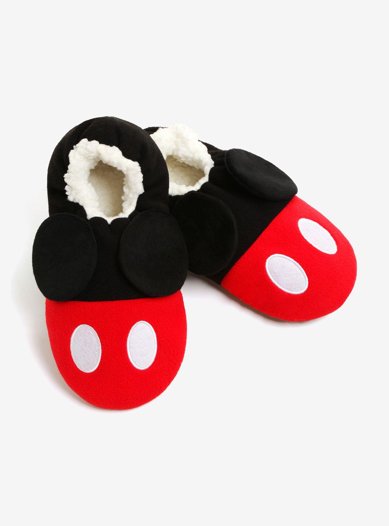 Disney mickey mouse pantoufles chaussons bleu