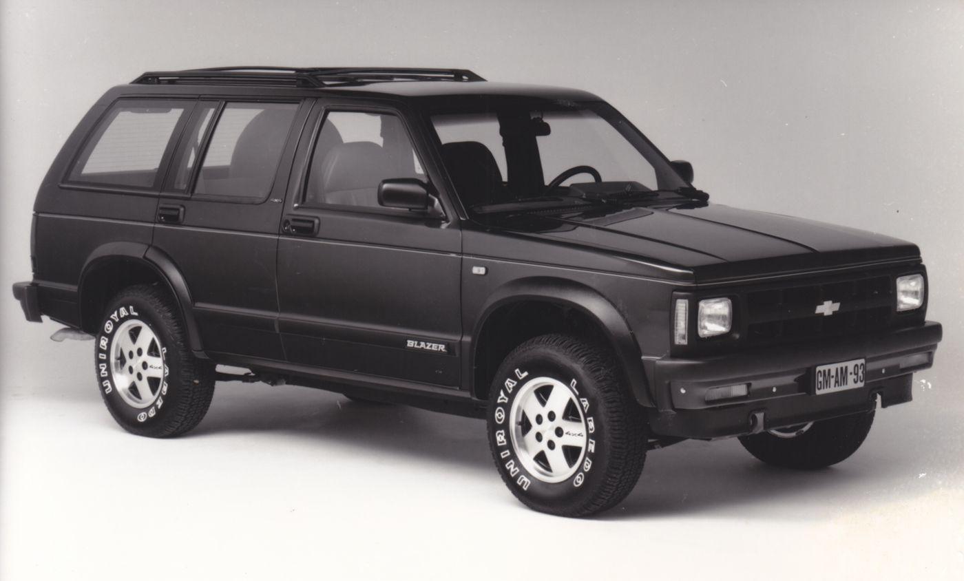 medium resolution of chevrolet blazer s10 4x4 1993