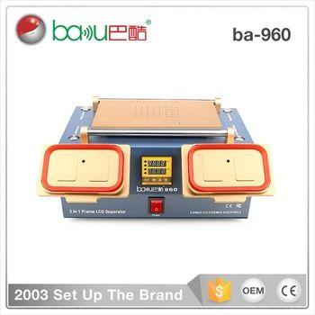 Ba 960 Baku 3 In 1 Lcd Screen Repair Preheater Bezel Middle Frame Lcd Separator Machine Vacuum Lcd Screen Separator Screen Repair Electronic Business Lcd