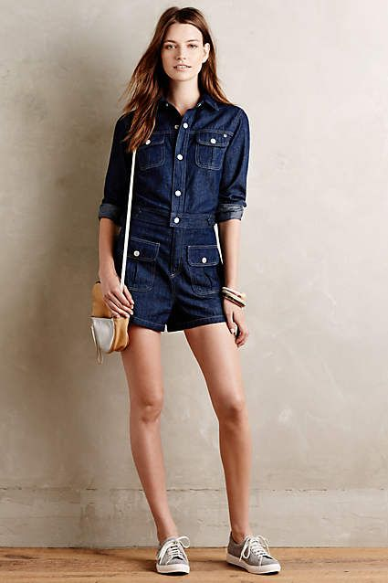 4f3139f74ab Alexa Chung for AG Denim Romper - anthropologie.com