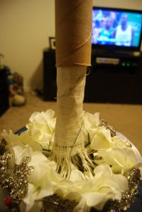 How To Make A Bouquet Holder