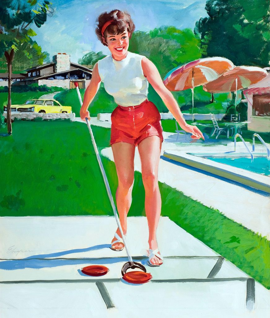 Image result for gil elvgren pin up girl prints sporty pin up image result for gil elvgren pin up girl prints thecheapjerseys Images