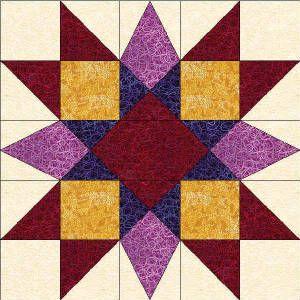 50 States- Maryland Free Star Quilt Block Pattern | Quilting ... : quilting blocks patterns - Adamdwight.com
