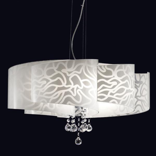Serie ventaglio lampadario sospensione produttore for Lampadario ventaglio