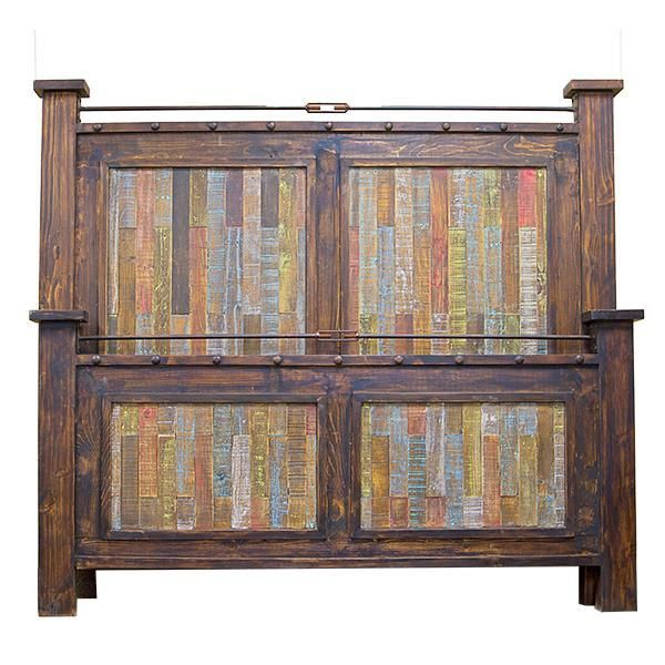 Lmt Las Piedras Bed Eclectic Furniture Solid Wood Furniture Quality Furniture