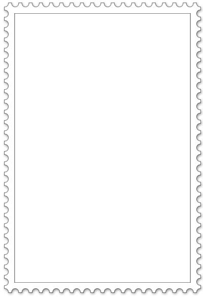 Briefmarken Blanko verschieden Formen   Briefmarken ...