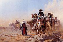 Gerome Napoleón Bonaparte en Egipto Pintura gran impresión arte enmarcado