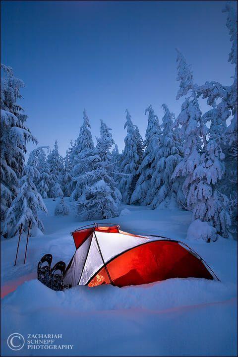 Winter Camp by Zack Schnepf on 500px in 2020 | Snow ...