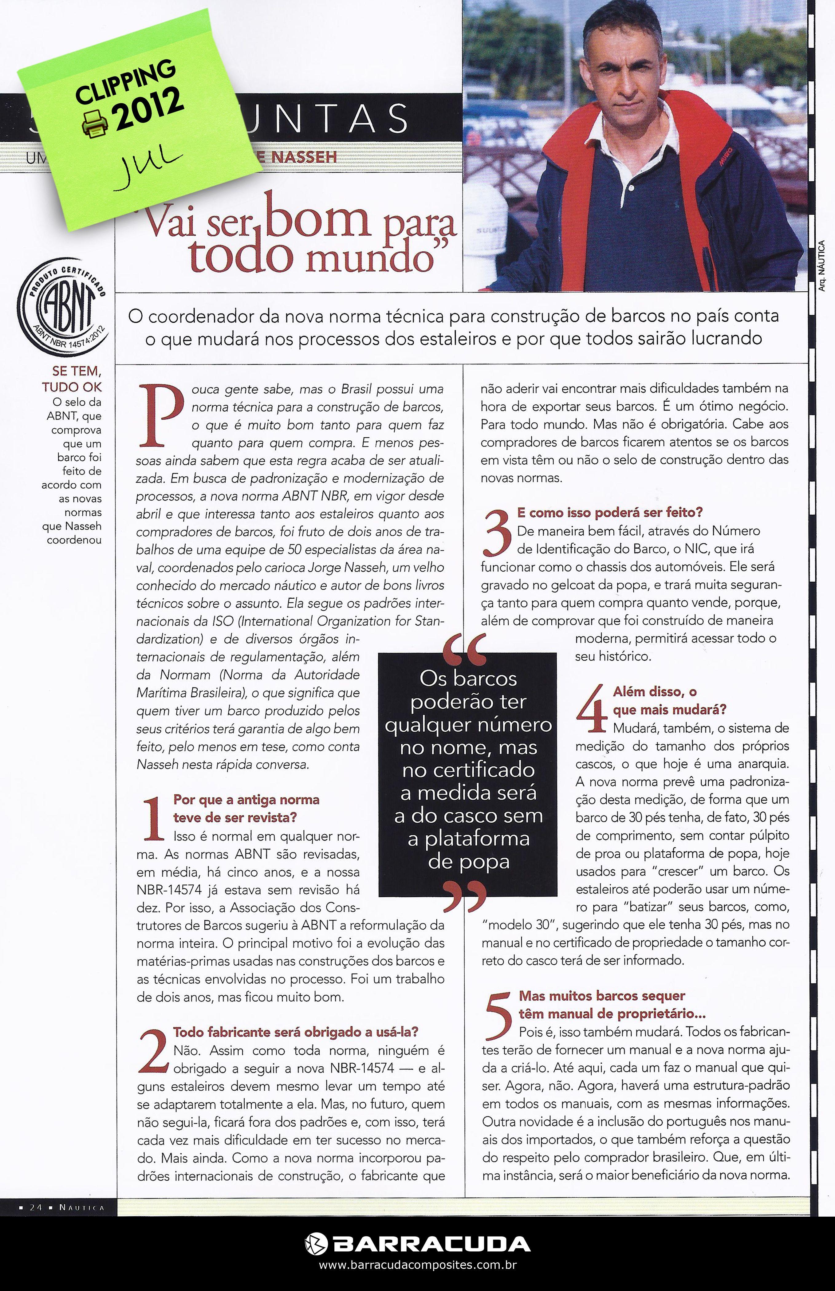::Revista Náutica::  Junho 2012 - nº 287