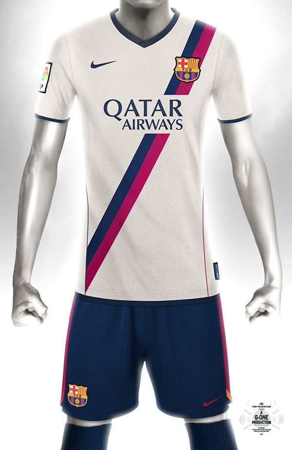58afab466 Conceptual kit design - Barcelona Away Home And Away, Soccer Fans,  Conceptual Design,
