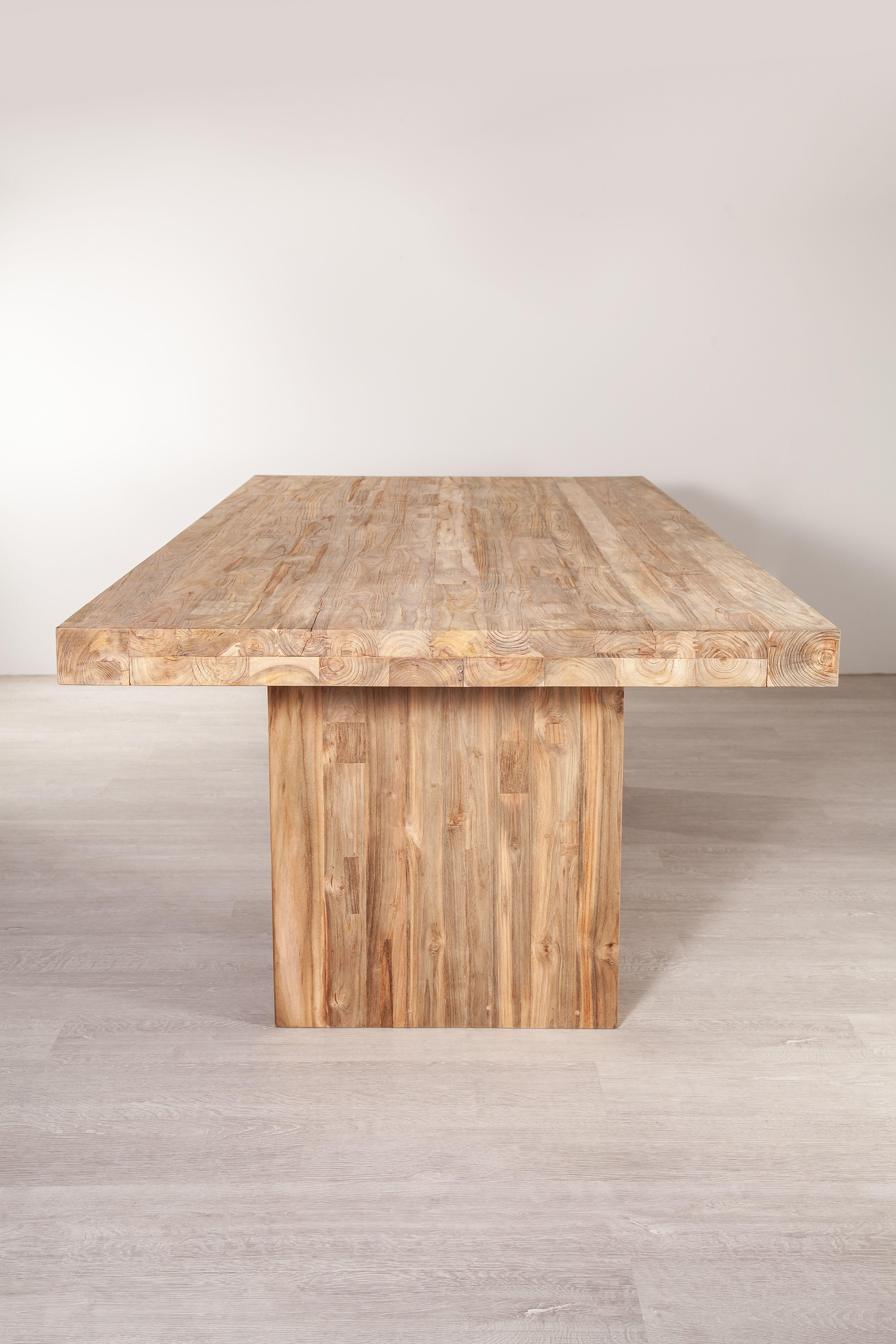 Unser Tisch Java Aus Recycelten Teak Ladt Zu Viele Gemutliche