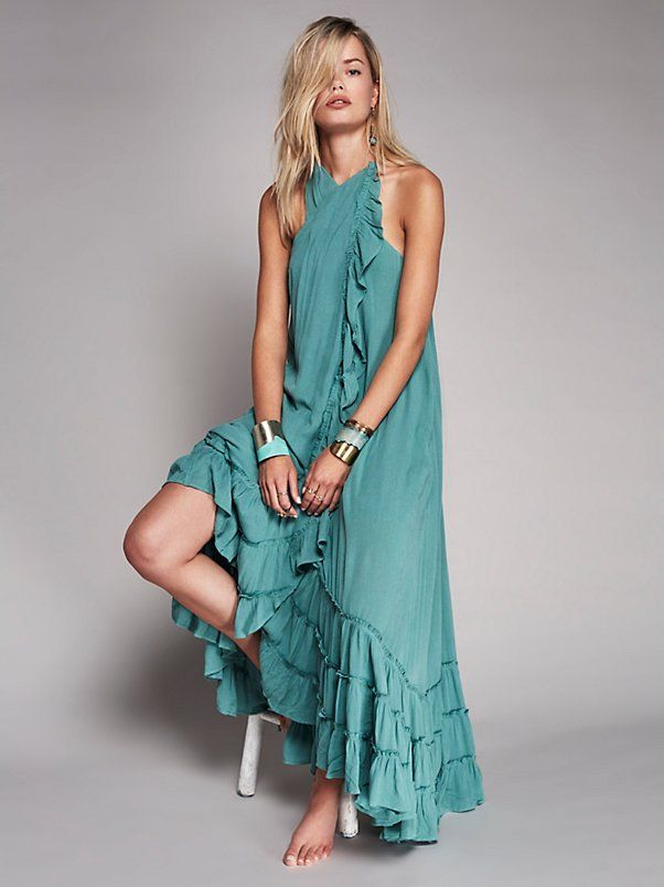 c6bdce8f8f Wrap Around Maxi Dress in 2019 | Obsessed With Free People | Dresses ...