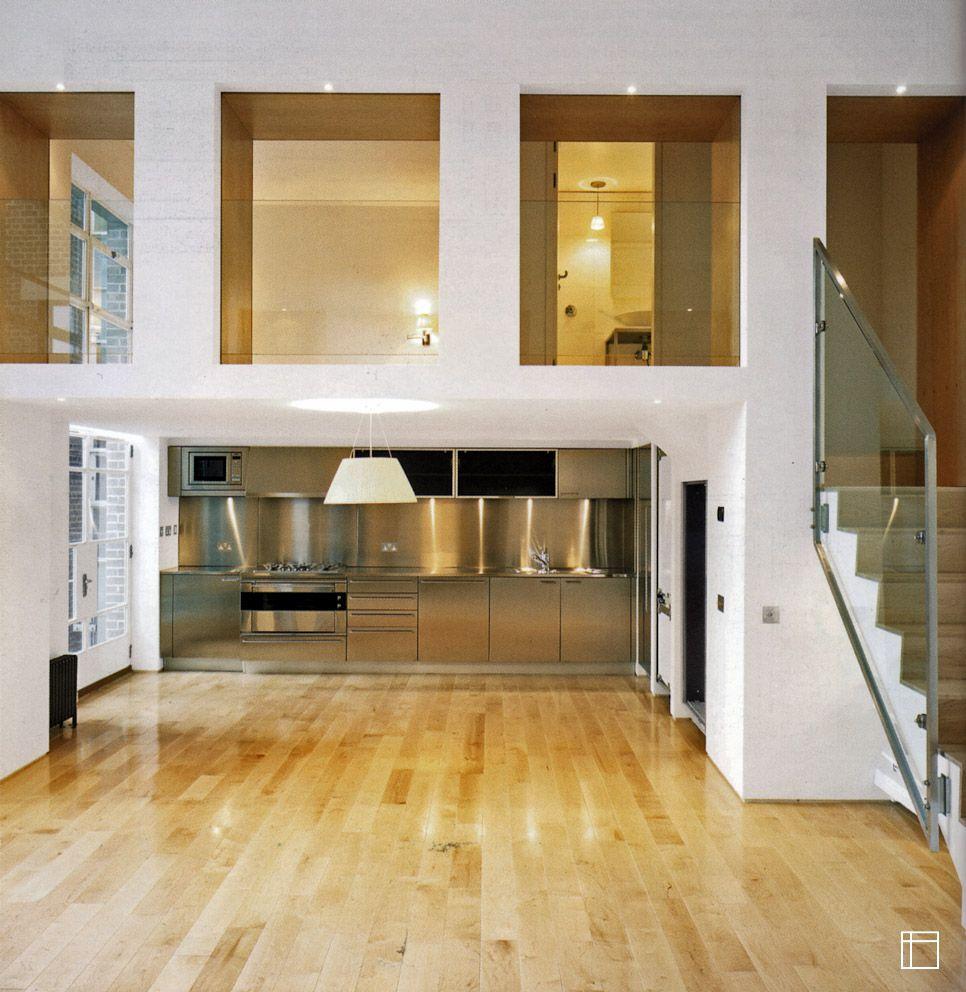 wohnungszusammenlegung innenarchitektur f r kleine r ume stadtwohnungen indoor. Black Bedroom Furniture Sets. Home Design Ideas