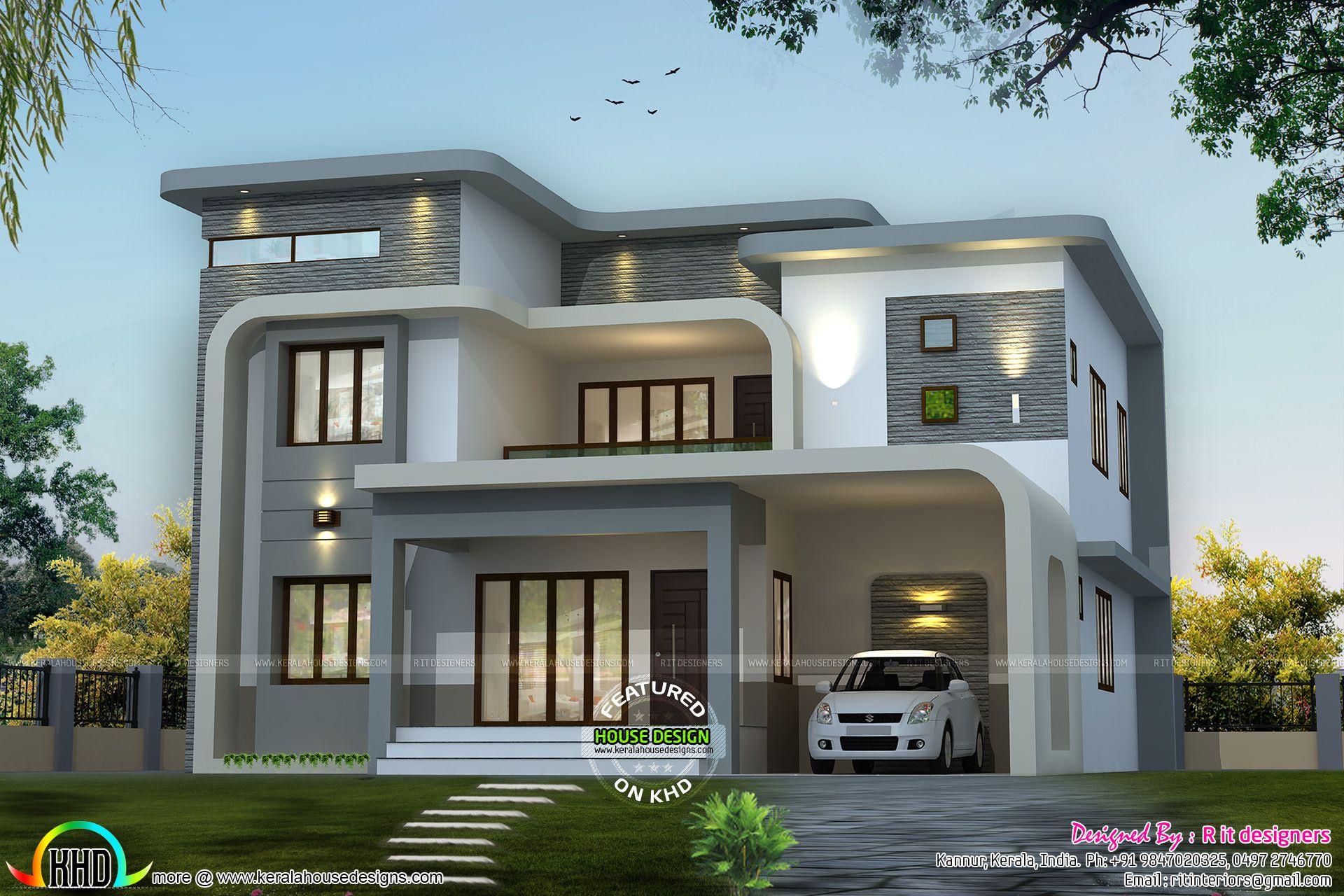 Unique flowing home design House floor plans Pinterest Unique