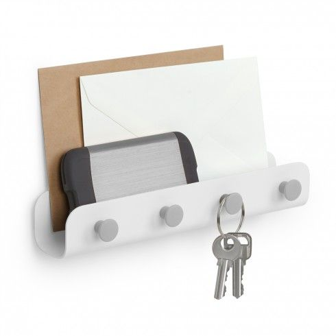 avain-seinänaulakko valkoinen Umbra