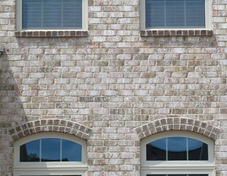 No Window Should Be Ordinary Details Like Double Rowlock Arches And Brick Sills Increase The Quality And Value Of Brick Detail French Exterior Exterior Brick
