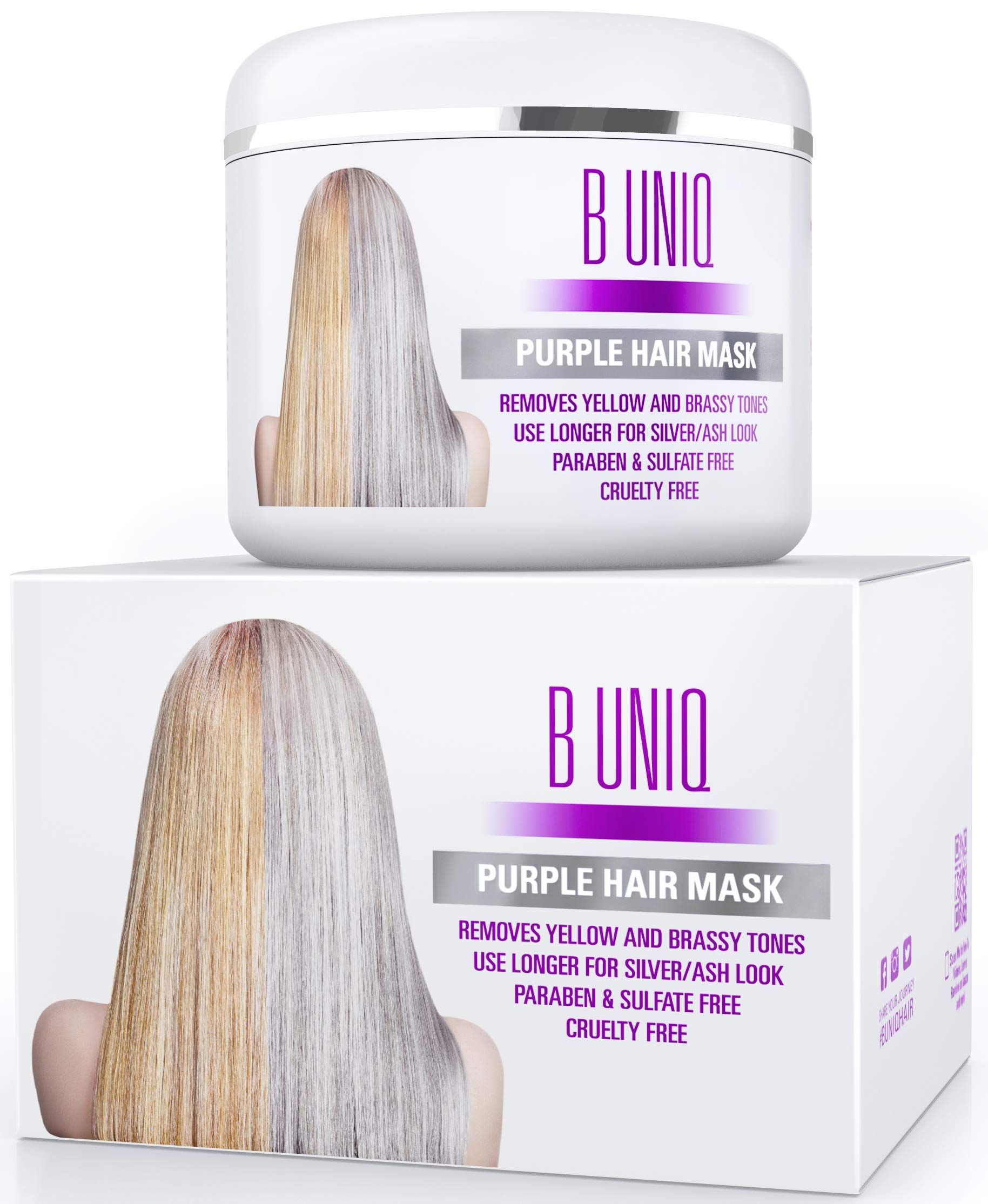 Amazon Com Purple Shampoo For Blonde Hair Blue Shampoo For