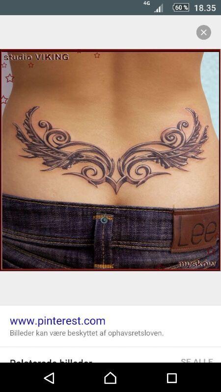 Tramp Stamp Tattoos Body Art Cool Side Waist