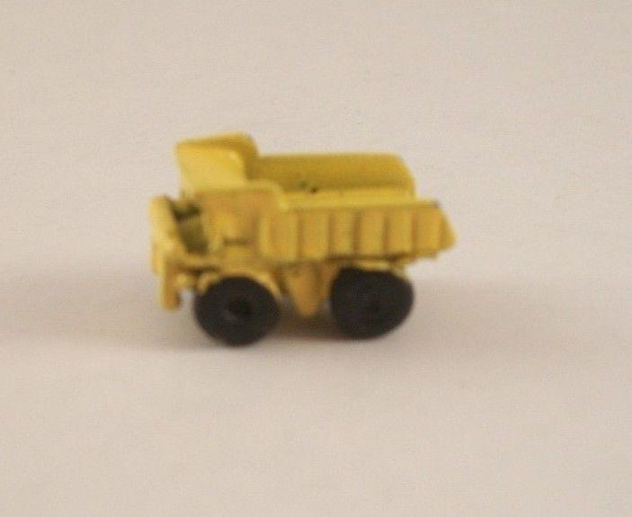 Miniature Dollhouse Yellow Toy Truck New