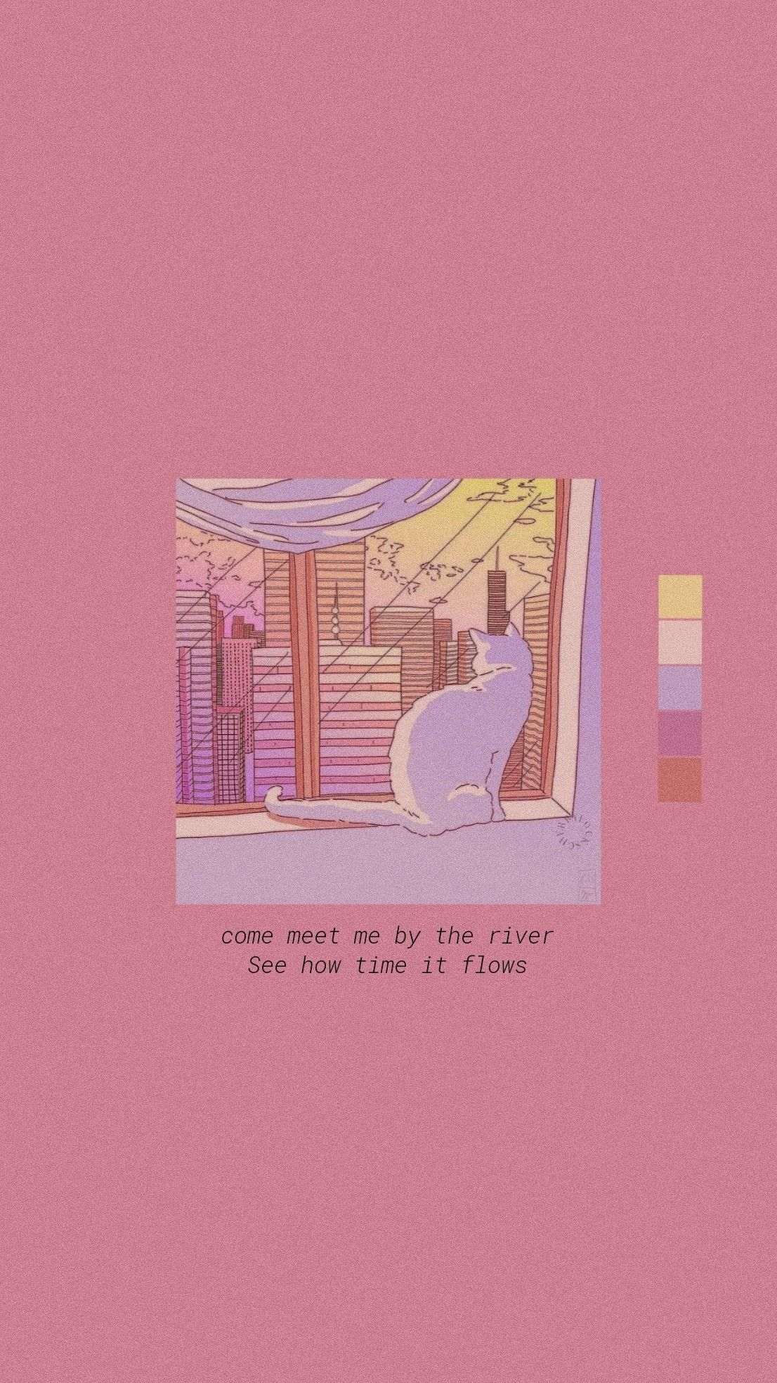Pink Aesthetic Quotes Love