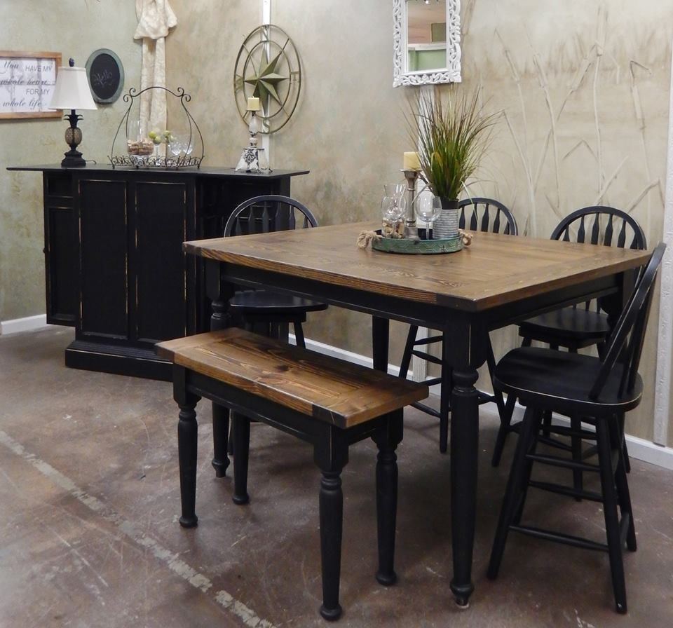 Awesome farmhouse pub tables and benches httpswww