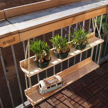 8 tolle Ideen für einzigartige Balkonmöbel! #apartmentbalconygarden