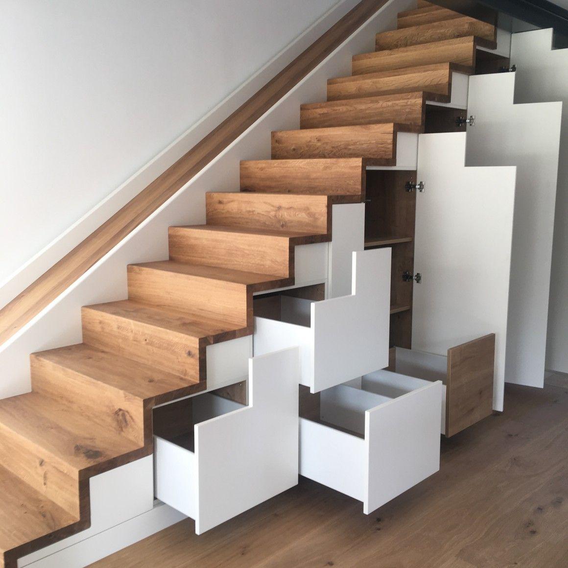 Treppenschrank mit Rutsche