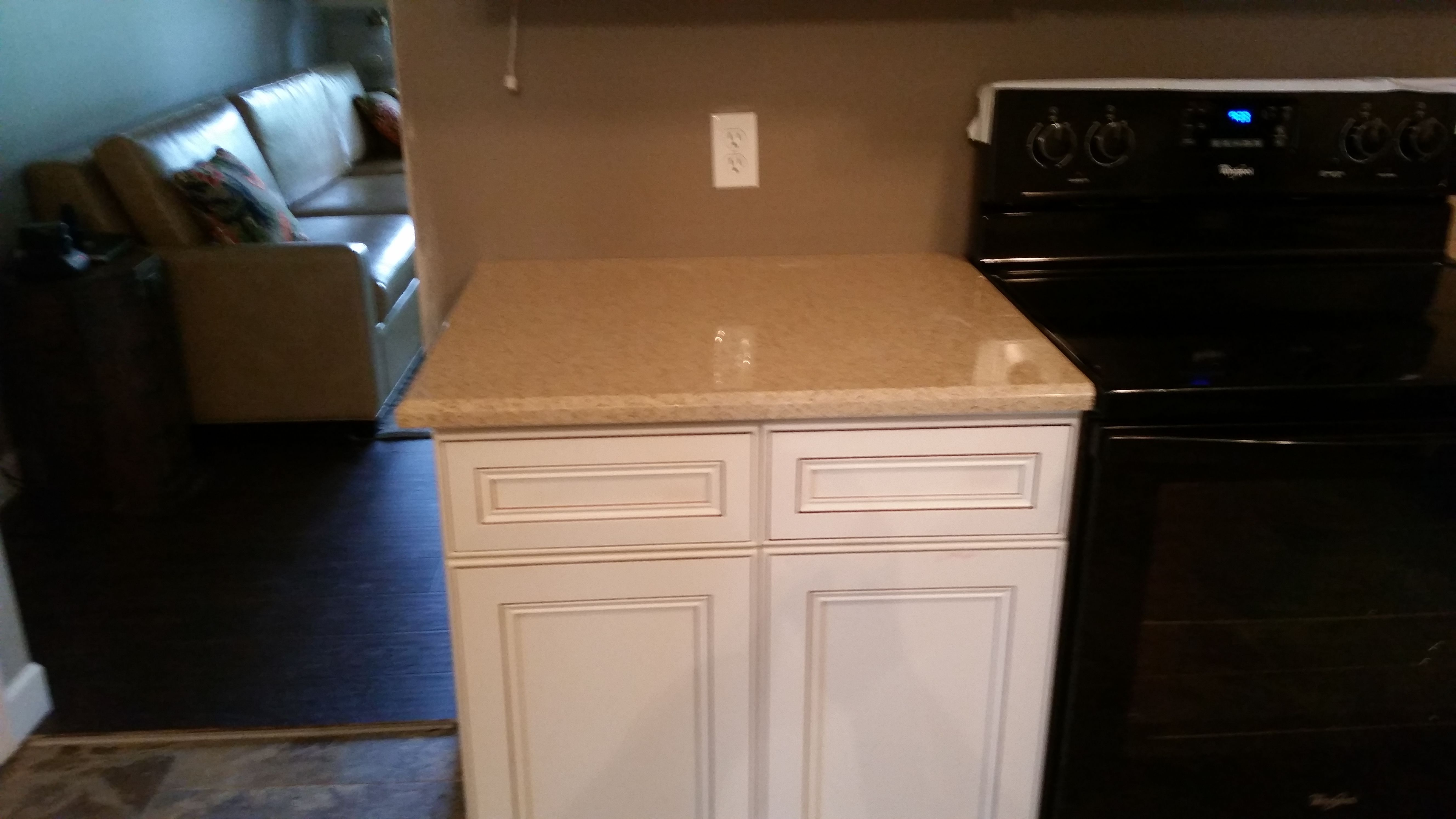 Venetian Avorio Hanstone Quartz Kitchen Countertop Install For The  Underdown Family. Knoxvilleu0027s Stone Interiors.