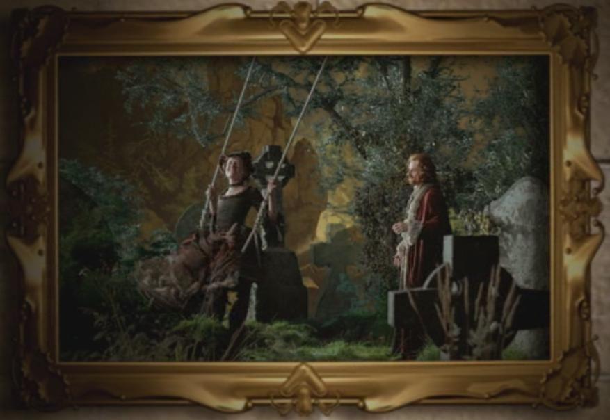 Latest 877 604 Portrait Of 2 Lovers In The Graveyard Hogwarts Painting Hogwarts Hogwarts Room Decor