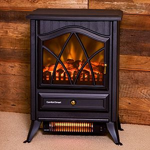the Comfort Smart electric heater warms up to 600 sq.ft.! | Electric Stoves | Pinterest | Infrared fireplace