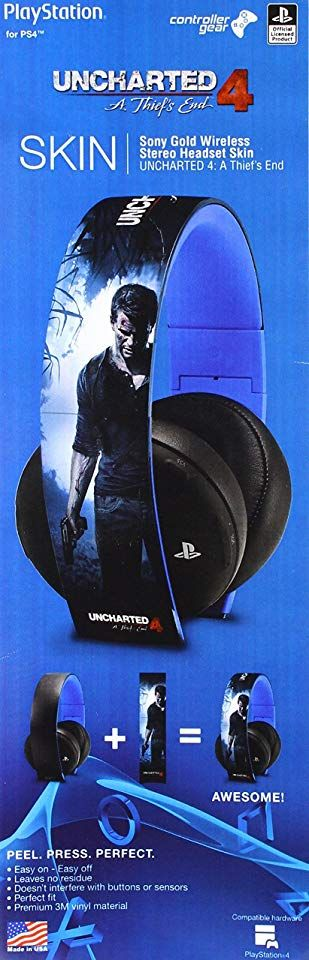 Controller Gear Uncharted 4 A Thief's End – Sony Gold