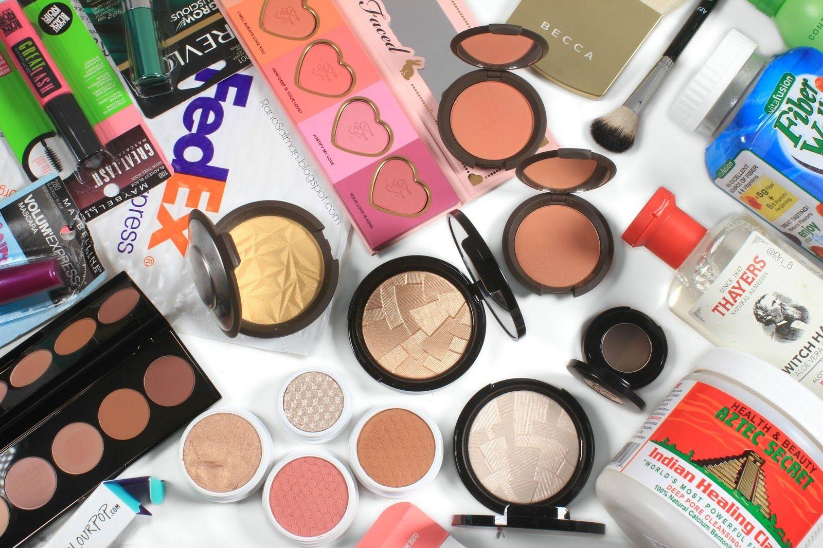 Black Friday And Cyber Monday Haul مشترياتي بالبلاك فرايدي وسايبر مندي Beauty Eyeshadow Makeup