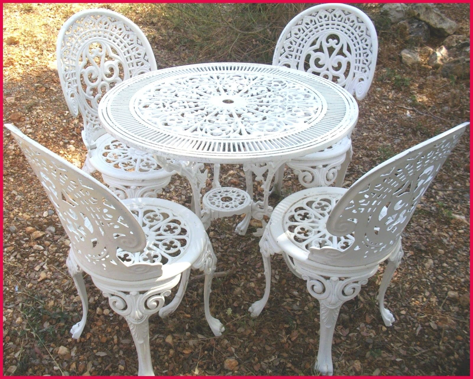 Salon De Jardin En Fer Forge Ancien Cast Iron Garden Furniture