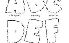 Amazing Alphabet Coloring Book Free PDF