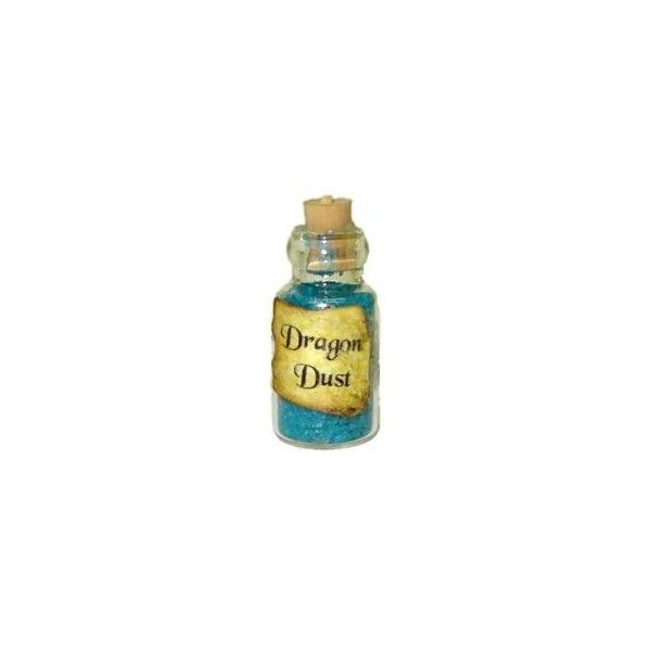 Dragon Dust Halloween Witches Brew Magic Potion Bottle (12 BRL) ❤ liked on Polyvore featuring halloween, potions, fillers, harry potter and accessories