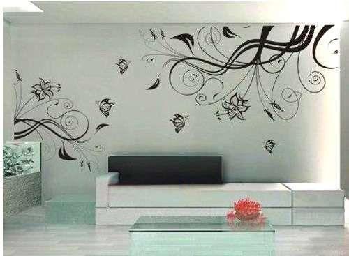 bedight wall art bedight flower vine art mural vinyl wall art   buy