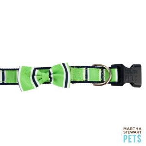 Martha Stewart Pets Striped Adjustable Dog Collar Collars Petsmart Martha Stewart Pets Dog Personality Pets