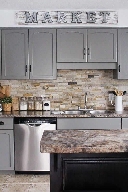 You Might Want To Rethink The Color Of Your Kitchen When You See Impressive Kitchens With Grey Cabinets Decorating Inspiration