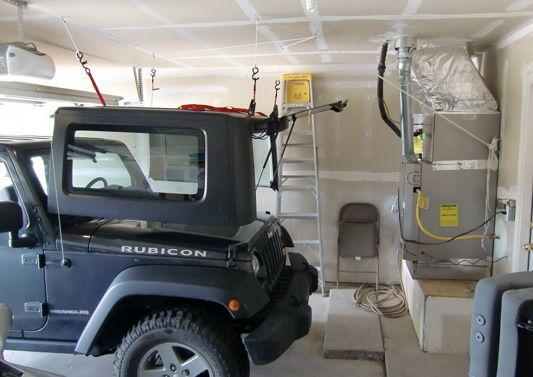 Diy Hardtop Hoist And Dolly Jeep Wrangler Forum Jeep Wrangler