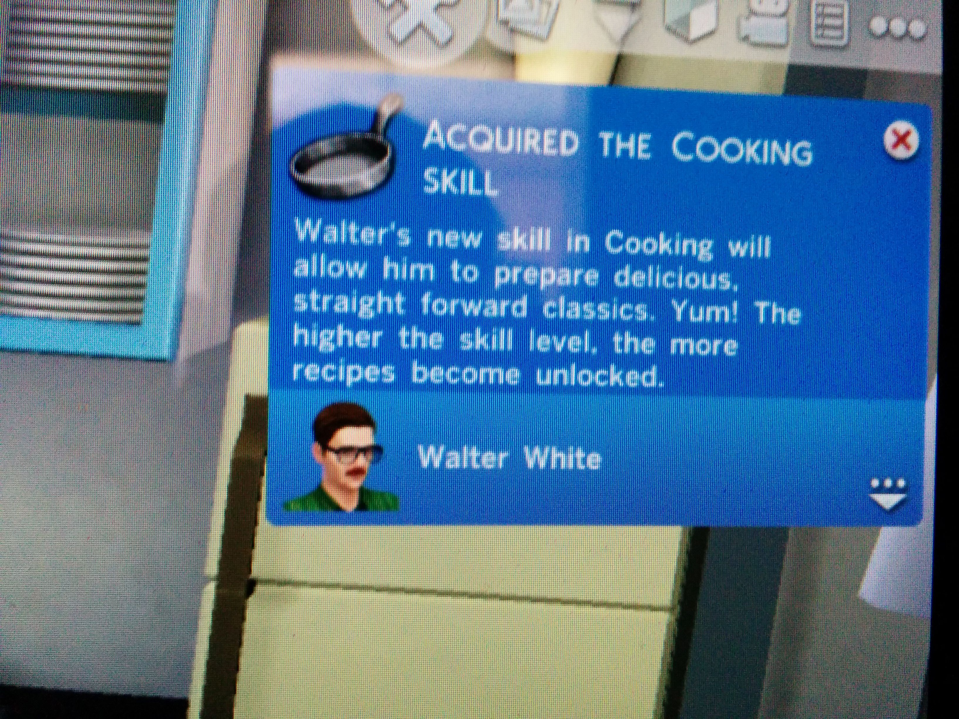 The Sims, Breaking Bad-style