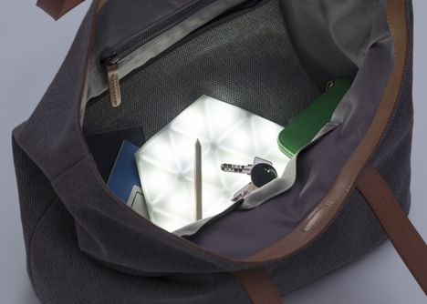 Kangaroo Light by Kawamura Ganjavian is designed to help you find things at the bottom of your bag